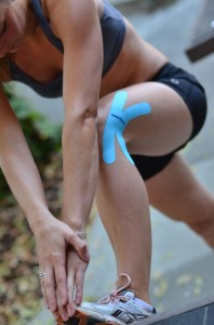 knee support Kinesiology Tape