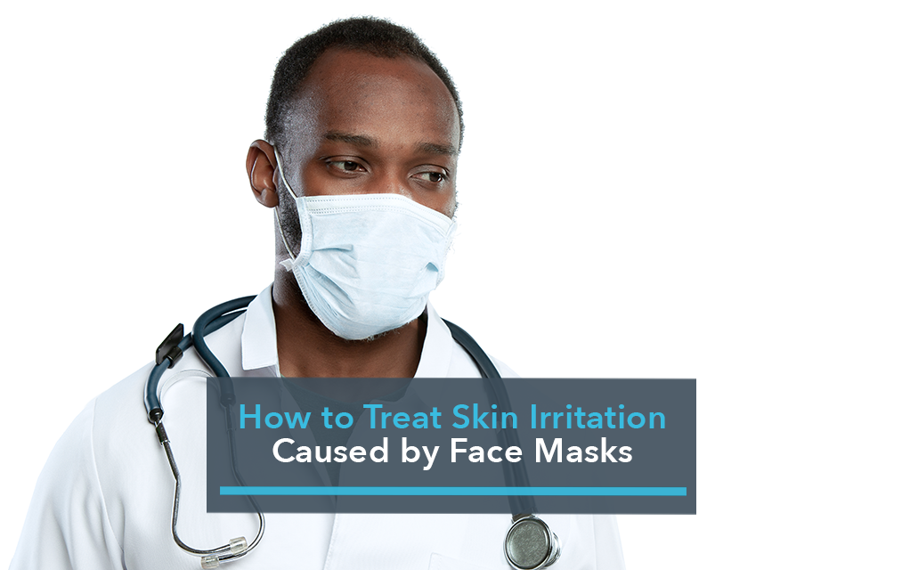 How to Treat Skin Irritation Caused by Face Masks Title Image